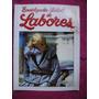 Revista Enciclopedia Salvat Labores,tejido,crochet,macramé.