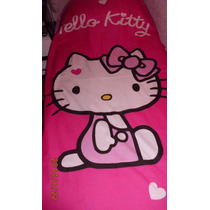 Hello Kitty Divino Cubrecama O Colcha Infantil 1plaza Nueva