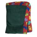 Frazada Cuna Estampada En Verde 100x150 Eskimo - Dormire