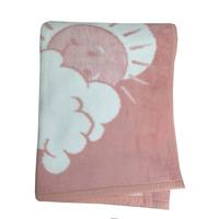Frazada Para Cuna Ositos Y Sol 100x150 Baby Cotton - Dormire