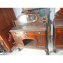 Mueble Antiguo De Roble Muy Buen Travajo Miralo