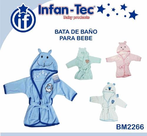 Salida De Baño Ninos Moldes:Salida De Baño Para Bebes Y Niños, Talle Unico: 0 A 12 Meses