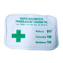 Botiquín Primeros Auxilios Y Seguridad Vial Ley 19061 En Loi