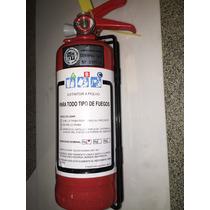 Extinguidor Bomberito Reglamentario 1 Kg. Auto Todo Fuego