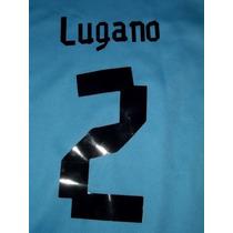 Numeros Y Nombres ,para Camiseta Uruguay 2012 Personalizados