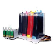 Sistema Continuo Tinta Para Imp. Epson Tx125 Tx135 T25