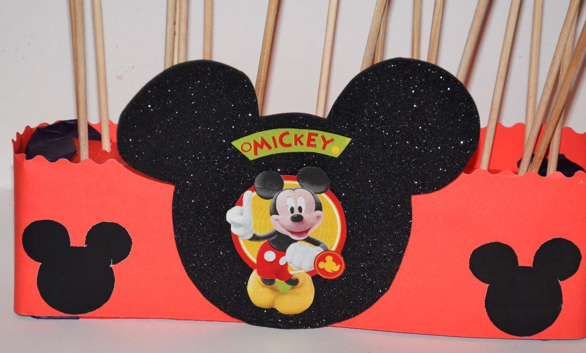 Dulcero de Mickey Mouse para Cumplaeños - YouTube