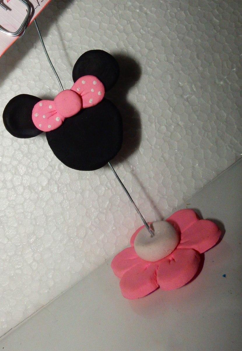 Souvenirs Minnie Porcelana Fria-cumpleaños-nacimiento - $ 26,00 en ...
