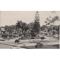 Antigua Postal Brasil Plaza Constitucion En Manaos Amazonas