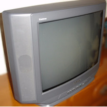 Tv Pantalla Plana Sony Trinitron 24 En Impecable Estado!