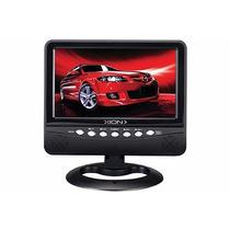Tv Mini Lcd 7 Xion Con Sintonizador Digital Usb Oferta!!