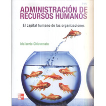 Administración De Recursos Humanos Idalberto Chiavenato