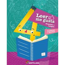 Leer Me Gusta 4. Primaria - Santillana. Edición 2015