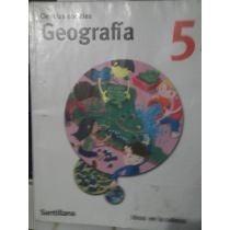 Ciencias Sociales Geografía 5 Primaria / Santillana