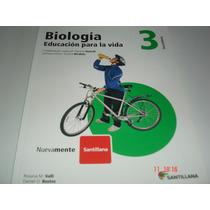 Biologia 1, 2 Y 3- Secundaria Santillana Nuevos
