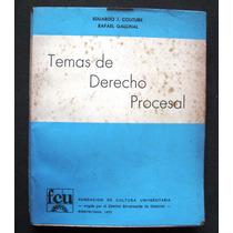 Temas De Derecho Procesal- Couture-gallinal