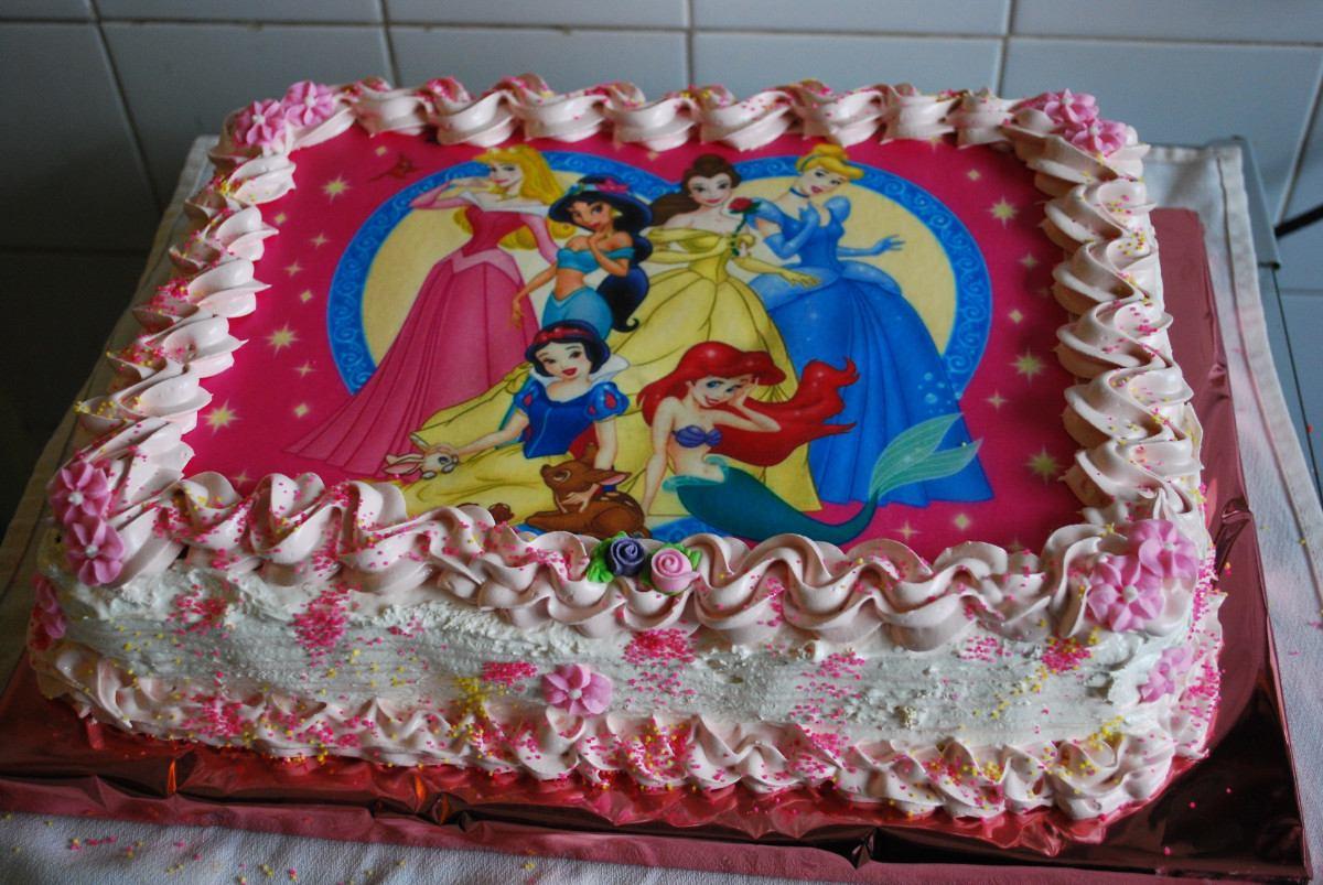 Baño Para Torta Infantil:Tortas Infantiles Con Lamina Comestible Y Merengue