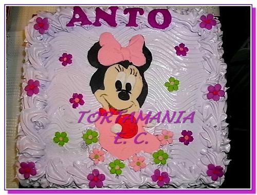 Torta Mickey O Minnie Baby. Diseños En Azúcar $ X Kilo - $ 350,00 ...