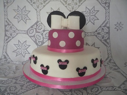 Tortas Mickey Mouse y Minnie - Imagui