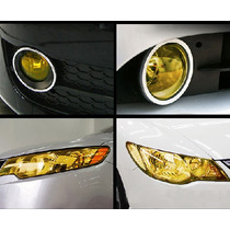 Film Adhesivo Tuning Faroles Auto Moto Vidrios Size 30cmx1m
