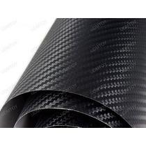 Film Lamina Vinilo Fibra Carbono Adhesiv.3 D 1.5mx1m Lineal