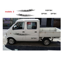 Dfsk Doble Cabina Pick Up 1.1 Adhesivos Laterales Y Caja