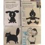 Sticker Autoadhesivos Family & Animals Blancos O Negros.x1