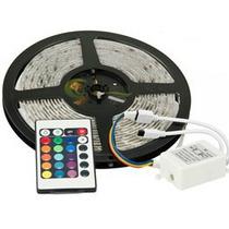 Led Rollo 3528-12v-220v Rgb-7 Colores C/ Control+ Transform.