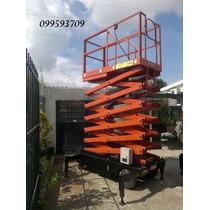 Plataforma Elevadora De Tijera 11m 500 Kg