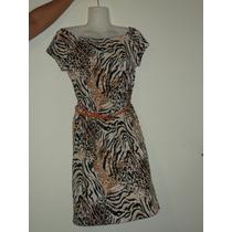 Vestidos Animal Print Y Leopardo Seda Fria Ultima Moda