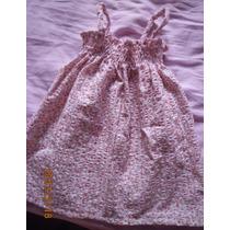 Vestido,solera,blusa Floreada De Nena Talle 2,para1 Año Apro