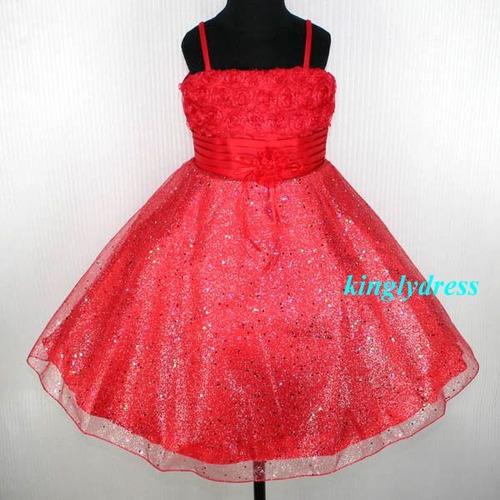 Vestidos De Fiesta Para Niña - $ 1.450,00 en MercadoLibre