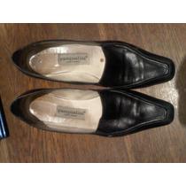 Zapatos De Cuero Negros Talle 39 Pascualini