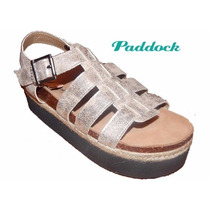 Sandalia Calzado Paddock Goma Eva De Dama