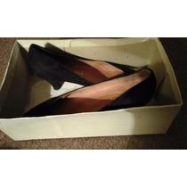 Zapatos De Vestir Negro De Gamuza