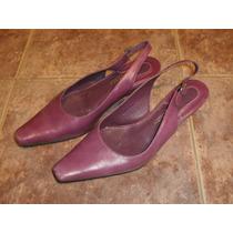 Zapatos De Cuero Marco Donatti, En Color Atractivo, Nro.38.