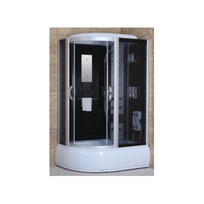 Cabina de ducha esquinera hidro masaje con radio y led - Cabina ducha rectangular ...