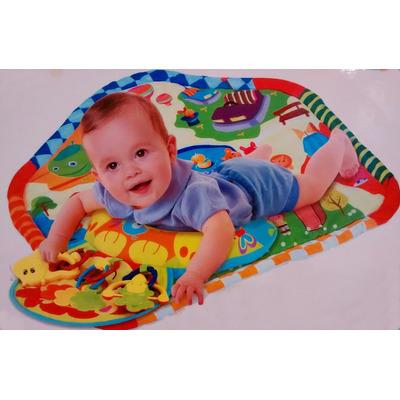 Alfombra did ctica con actividades para bebes en mercado libre - Alfombra actividades bebe ...