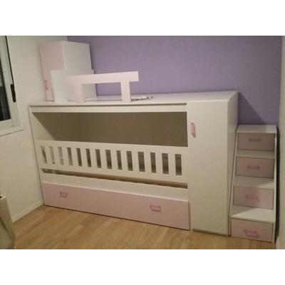 Amoblamiento integral cama cucheta cuna marinera for Fabricas de muebles en montevideo uruguay