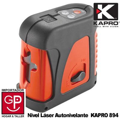 Nivel l ser autonivelante interior exterior kapro 894 for Nivel laser autonivelante