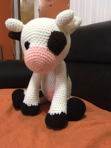 La Vaca Lola Amigurumi Peluche
