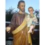 Imagen Religiosa San Jose,santos ,virgenes,yeso,antiguedad