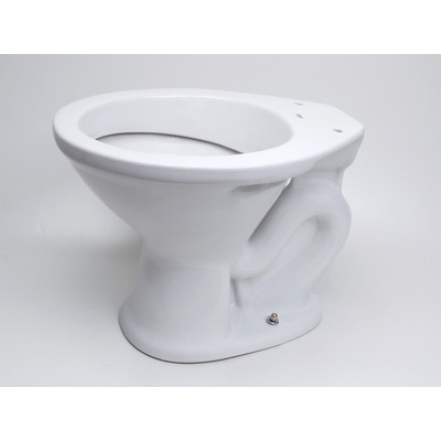 Inodoro convencional loza blanco fiori cer micas castro for Ceramicas castro