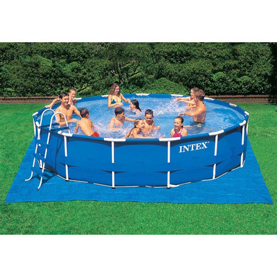 Lona base para piscinas intex 28048 di metro hasta 457cm for Piscina estructural intex