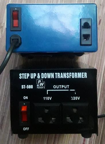 Transformador  110 V  500w  1 O 2 Salidas